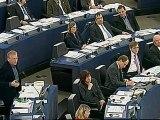 Daniel Cohn-Bendit face à Viktor Orban au Parlement européen