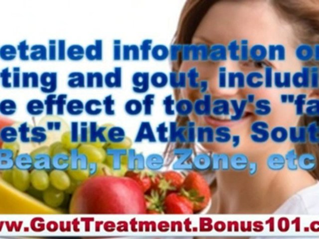 how to prevent gout – how to treat gout