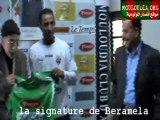 la signature de Beramela Au Mouloudia Club d'alger