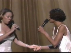 Whitney Houston Mariah Carey When you believe live 1999