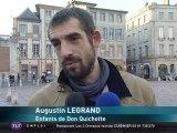 Augustin Legrand soutient les enfants du Canal (Toulouse)