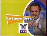 Bande Annonce De L Emission Le Juste Prix Novembre 1997 Tf1 Vidéo Dailymotion