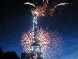 Feu d'artifice du 14 juillet 2009 Tour Eiffel Part 4