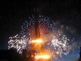 Feu d'artifice Tour Eiffel le 14 juillet 2009 Part 6