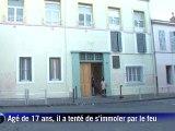Tentative d'immolation à Marseille: le lycéen au plus mal