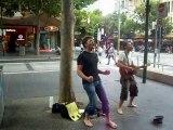 Des chanteurs français dans Melbourne
