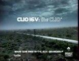 Publicité Clio 16v Renault 1999