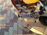 900 CBR pot dan moto sans chicane