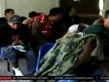 Migrantes salvadoreños denuncian maltrato durante proceso d