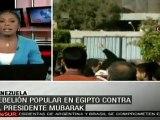 Egipto, una sóla meta: salir del régimen de Mubarak