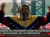 Socialismo y democracia son inseparables: Chávez