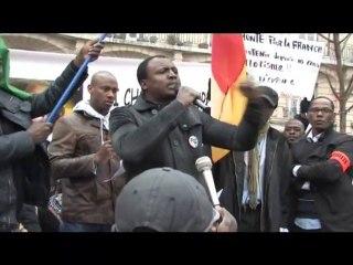Manifestation à Paris le 23 janvier 2011 (Place de la Nation