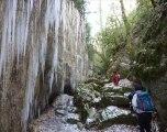Le Canyon des Gueulards en Hivers (Vercors nord)