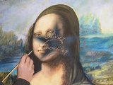 MONA LISA - La Joconde - Olivier Lemennicier Artiste peintre sur toile, Peinture Acrylique - Vidéo