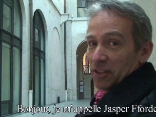 Vidéo de Jasper Fforde