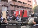 Dozens of Egyptians protested against the... - no comment