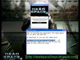 Dead Space 2 Codes Keys For XBOX 360, PS3 and PC