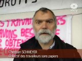 Les sans- papiers de Vitry sur Seine- 94