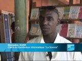 080716 [TV] F24 - Borne de ressources libres a Bamako