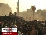 Caire Egypte 25 janv 2011 1à2 Moubarak dégage