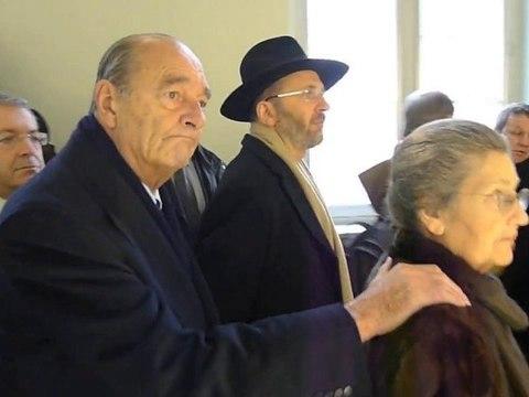 Chirac fatigué à Orléans