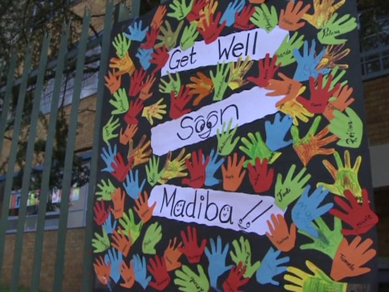 S. Africans await news of hospitalised Mandela