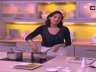 Recette buche au chocolat meringues colorées