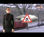 Mantes en Yvelines: Neige dans le Mantois