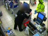 Masked robber unmasked