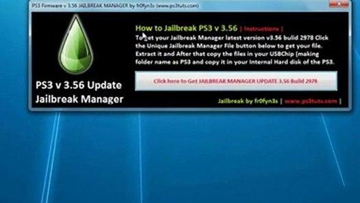 PS3 3 56 Update Jailbreak is Out (READ DESCRIPTION)