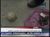 Des antiquités endommagées au Musée égyptien du Caire