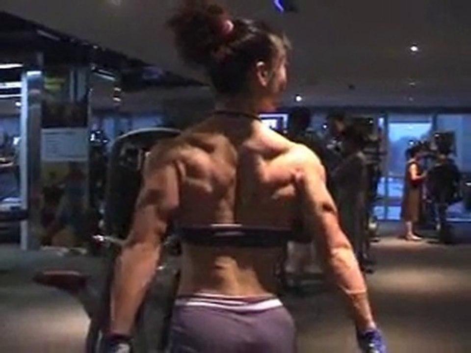 Gym Work: Xin Li Cao.