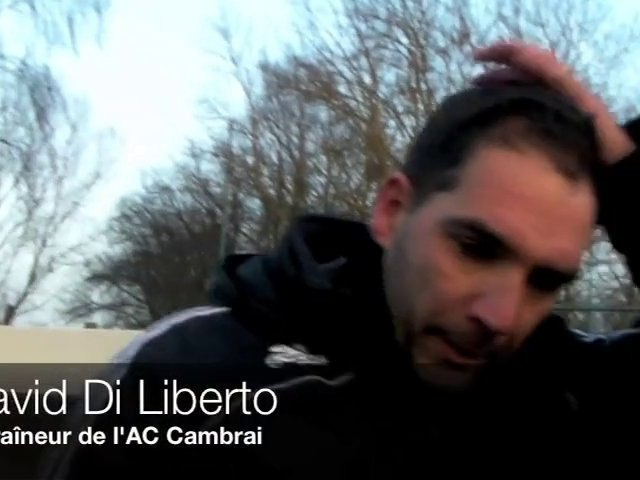 Football - Aulnoye - Cambrai