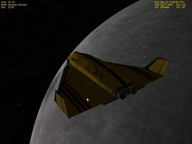[Tutoriel Orbiter] De la Terre à la Lune