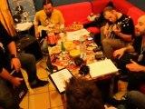 Bagdad Rodeo backstage au Café de la Plage