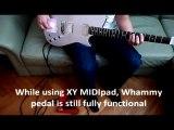 Kaoss Pad MIDI controller guitar Bellamy Muse