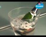 Comment rafraichir en 2 minutes une bouteille ou une canette (Champagne, eau, bière ou soda)