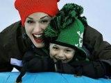Exklusiv: Gwen Stefanis Schnee-Urlaub