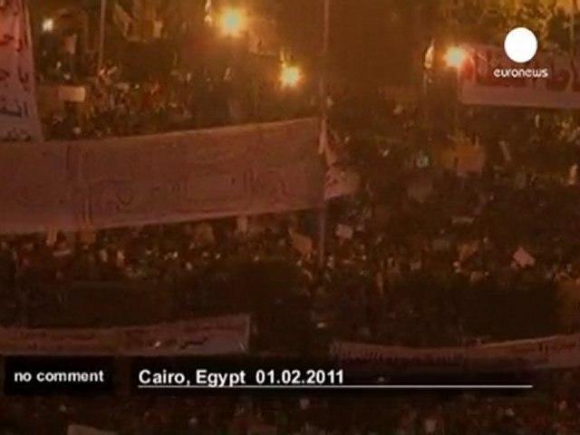 Egypte : un million de personnes dans la rue - no comment