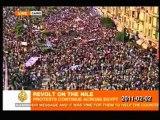 EGYPTE - Affrontements pro-anti Moubarak au Caire