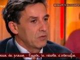Emmanuel Todd sur l'Egypte dans CSOJ du 01/01/2011
