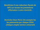 MENAGE/REPASSAGE - DOMICILE CLEAN PARIS
