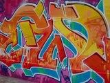 Mur pyrénées - Graffeurs en action # 3 -