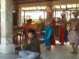 Sanctuaire Erawan, danse traditionnelle