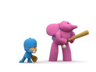 Pocoyo - Bat and Ball