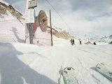 Descente snow à la Plagne