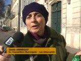 TCSP: Des militants contre l'abattage des arbres! (Nîmes)