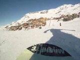 Val Thorens 2011 Snowboard Ride Machete camera GoPro Hero HD