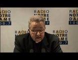 Entretien du Cardinal - Radio Notre Dame - 05/02/2011