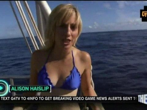 Alison Haislip and sharks